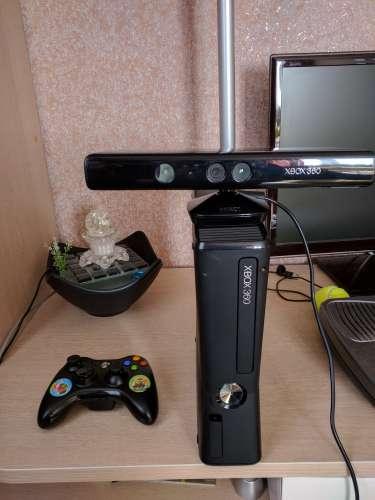 Xbox 360 slim 250gb черный (ростест)