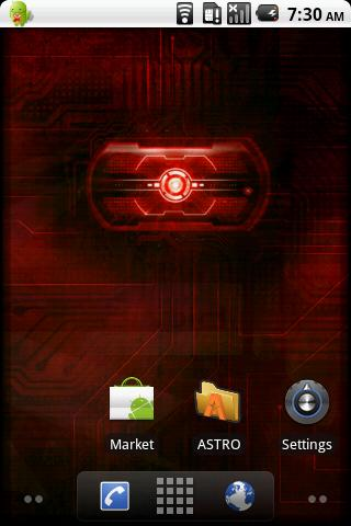 Droid wall