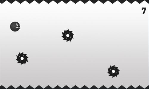 10491446 - > Black Ball - Прыгающий шар   [Аркада]Хардкорная игра в стиле Flappy Bird