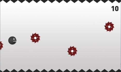10491447 - > Black Ball - Прыгающий шар   [Аркада]Хардкорная игра в стиле Flappy Bird