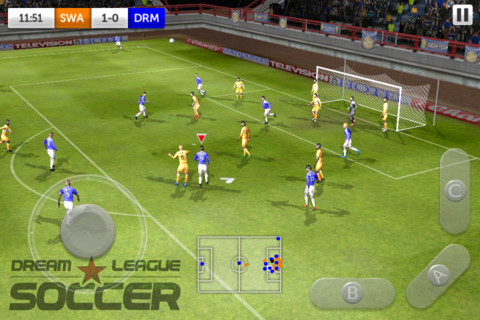 Real football 2012 android скачать
