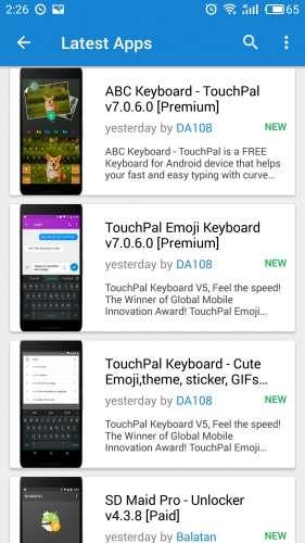 Помощь в поиске программ для Android OS - 4PDA