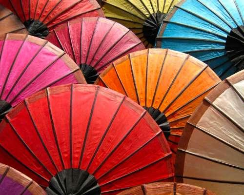 обои картинки фото зонты на рабочий стол № 253438 без смс