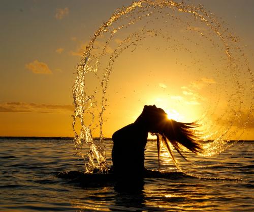 Как сделать фото в закате