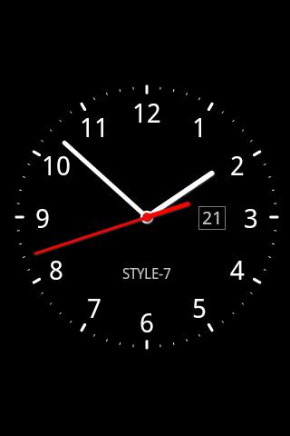 заставка часы на рабочий стол windows 7 № 203054 загрузить