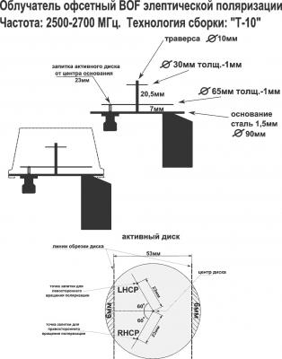 4g облучатель для спутниковой тарелки своими руками