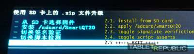 Как сделать пошивки на китайских телевизоров