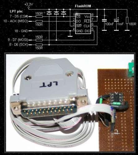 Программатор для 25q32 своими руками 58