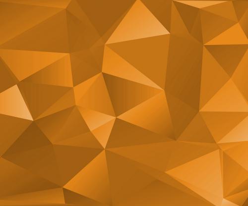 Geometric yellow wallpaper