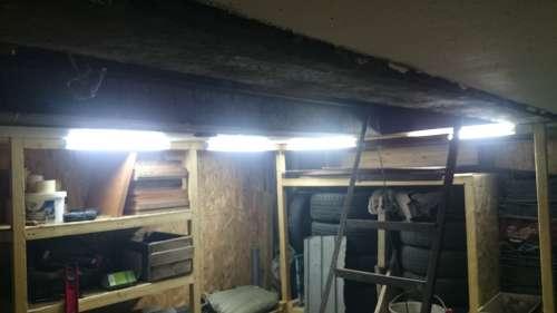 Освещение в подвале гаража своими руками 6