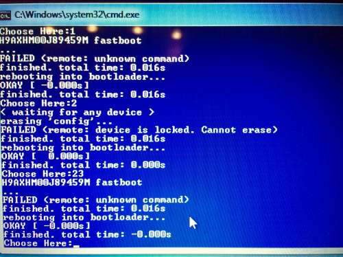 Fastboot oem reboot-edl FAILED remote unknown command