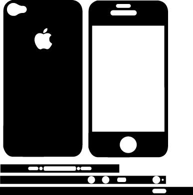 Открытка в виде телефона шаблон, надписи картинки