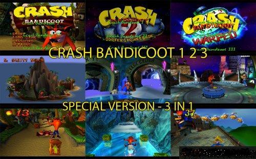 Скачать Crash Bandicoot на Ps1
