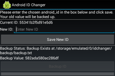 ROOT] Android ID Changer - 4PDA